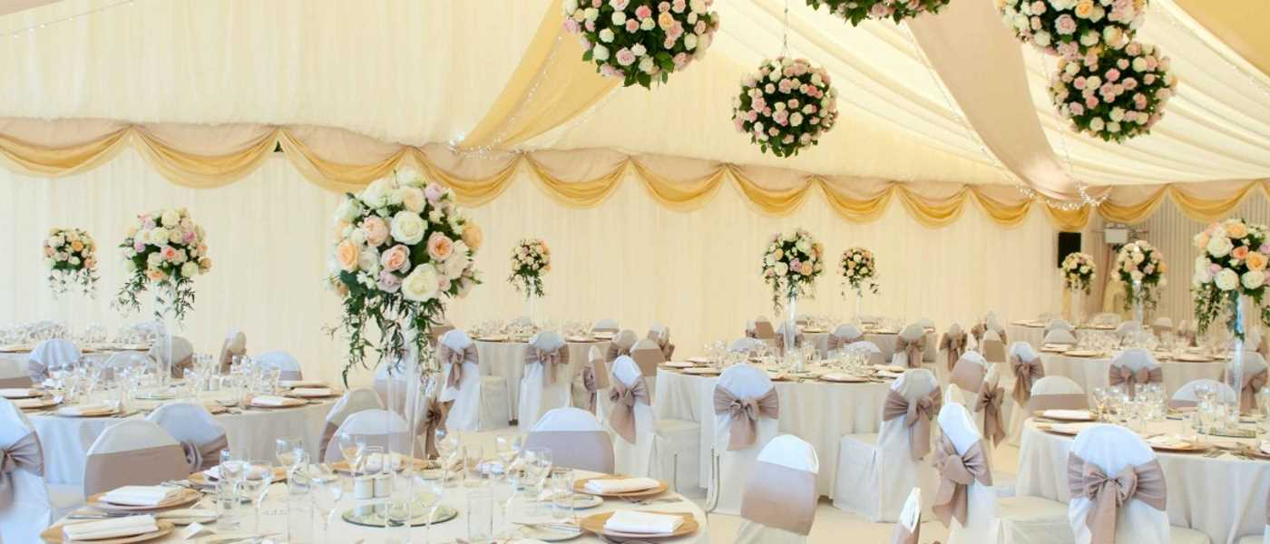 Marquee Linings Manufactured In The Uk