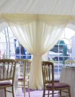 marquee window drapes closing