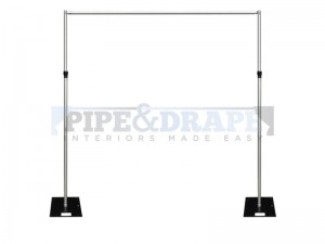 2 UP KIT FULL HEIGHT PIPE AND DRAPE
